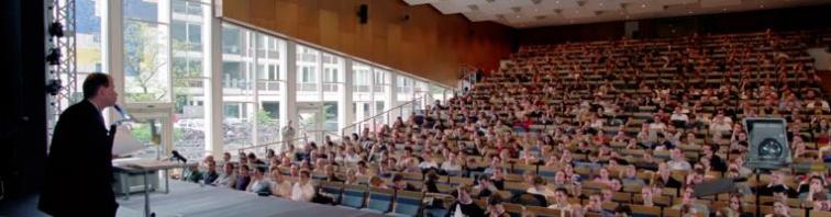 Vorlesung im Hörsaal