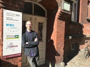 Prof. Dr.-Ing. Thomas Hupperich, Professor für IT-Sicherheit