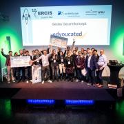 Die Gewinner und die Jury des ERCIS Launch Pad 2019